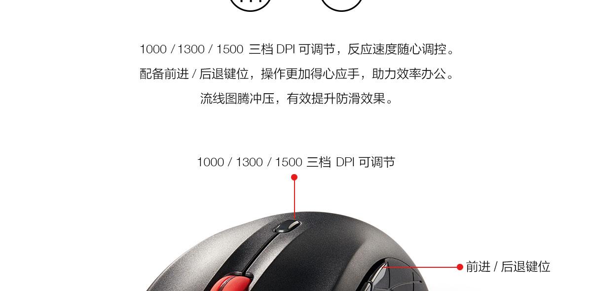 ThinkpadThinkLife WLM200 无线静音鼠标 (4X30M68237)0
