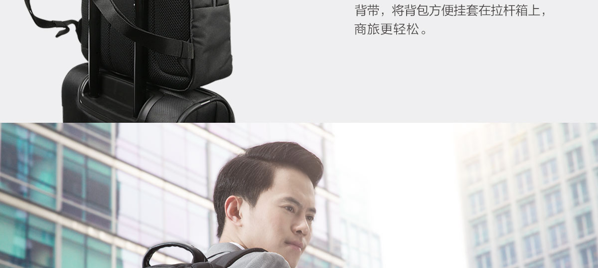 ThinkpadThinLife NAVA经典商旅双肩包 (4X40M52018)0