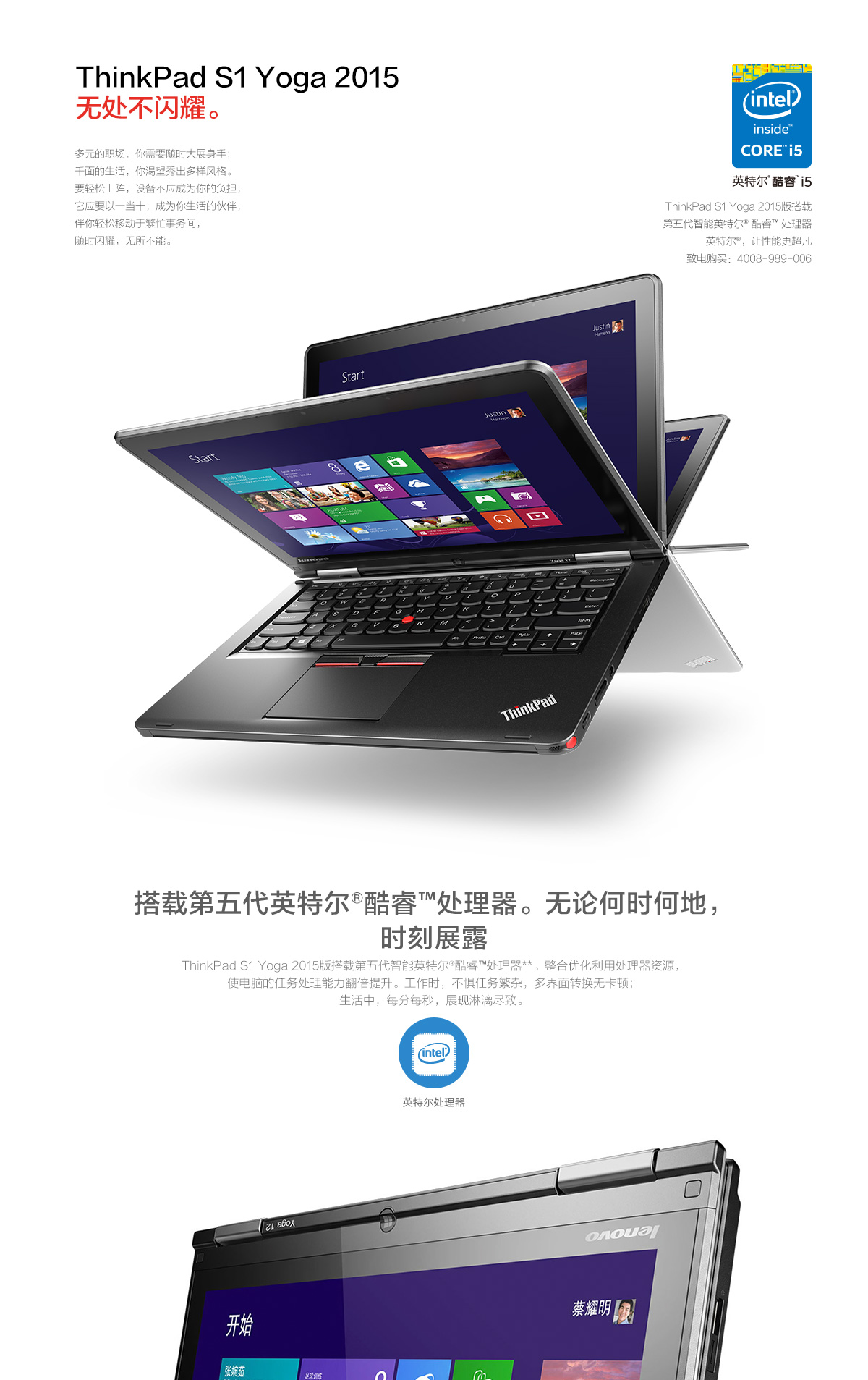 ThinkpadS1 Yoga 2015(PC)1