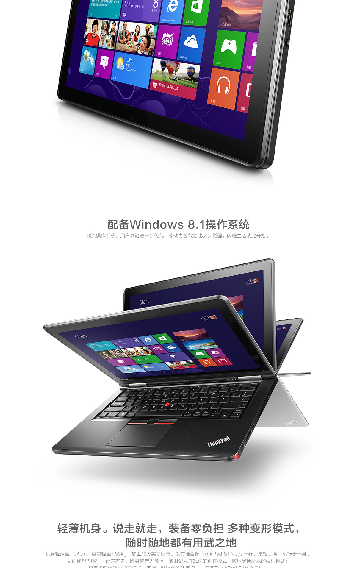 ThinkpadS1 Yoga 2015(PC)2