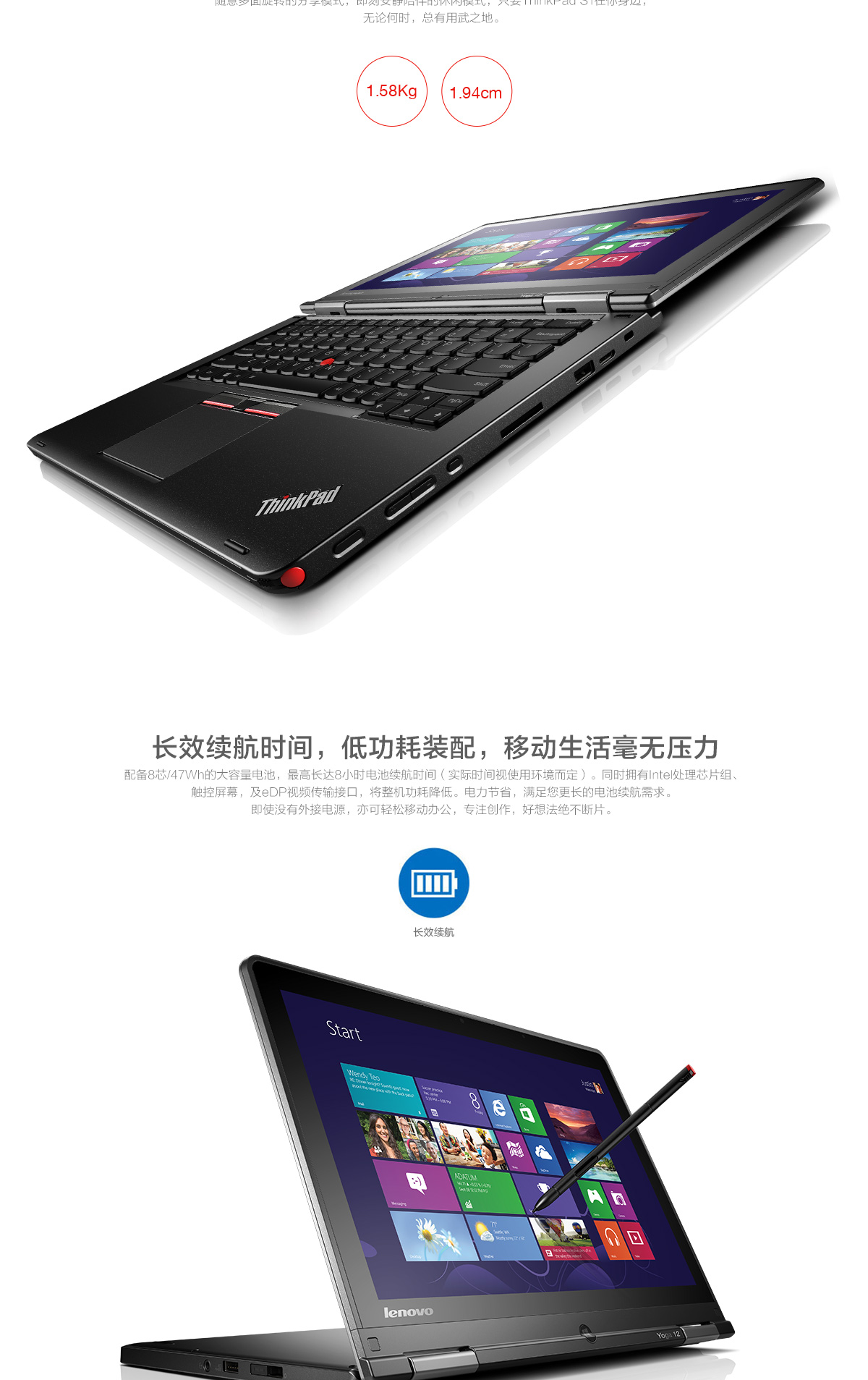 ThinkpadS1 Yoga 2015(PC)3