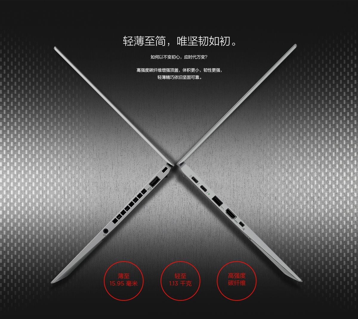 ThinkpadX1 Carbon 2017 银色版(PC)1