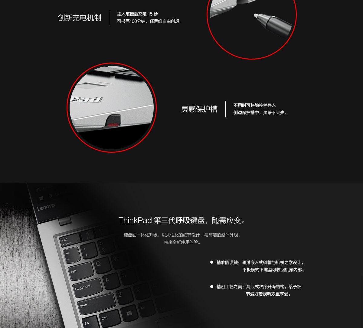 ThinkpadX1 Yoga 2017 银色版(PC)4